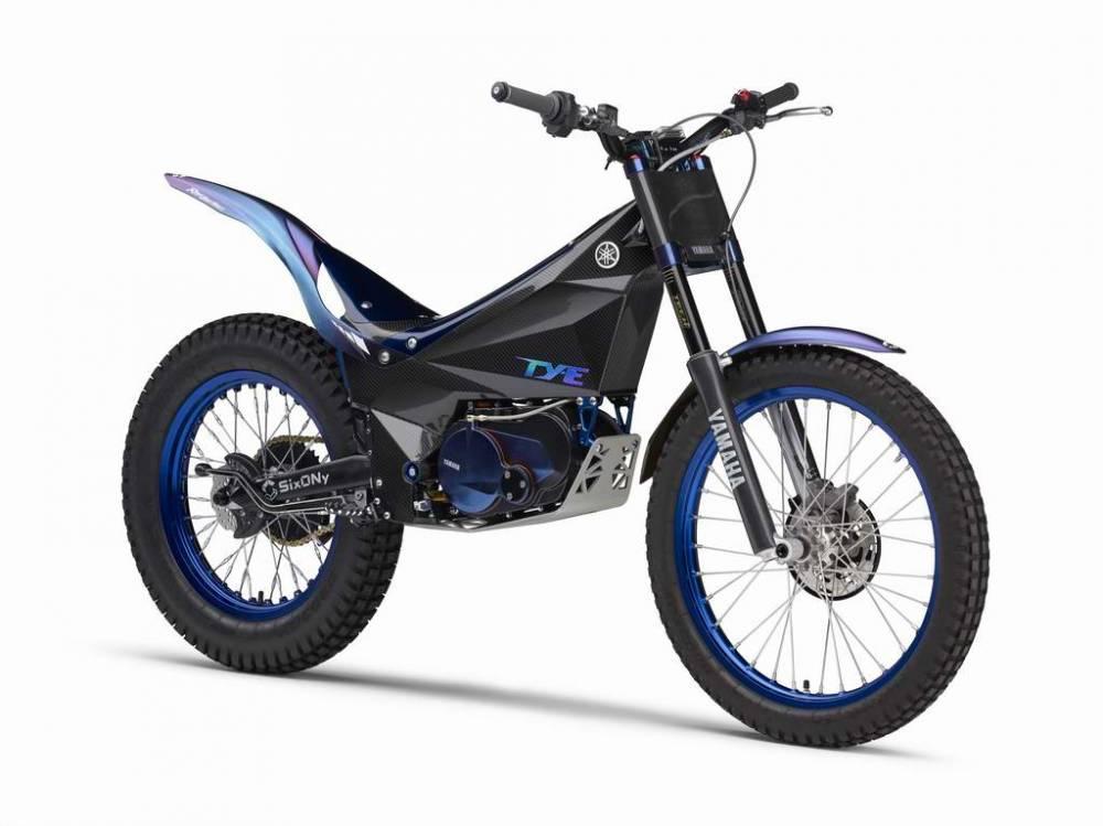 Moto trial Yamaha TY-E